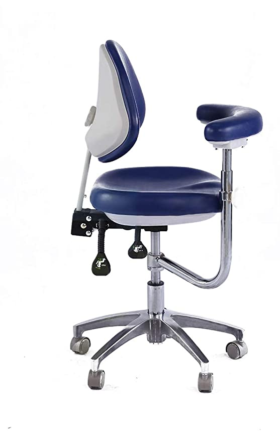 First Dental QY600 - Taburete para Dentista con reposabrazos ...
