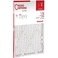 MicroDefense by Honeywell CF108A2020-2PK/C Honeywell Filter, 1 inch, 20x20, MERV 8 MicroDefense, 20x20x1