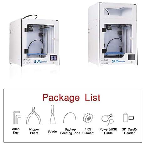 ZMM Impresora 3D con Cama de Calor y Caja de Control de ...