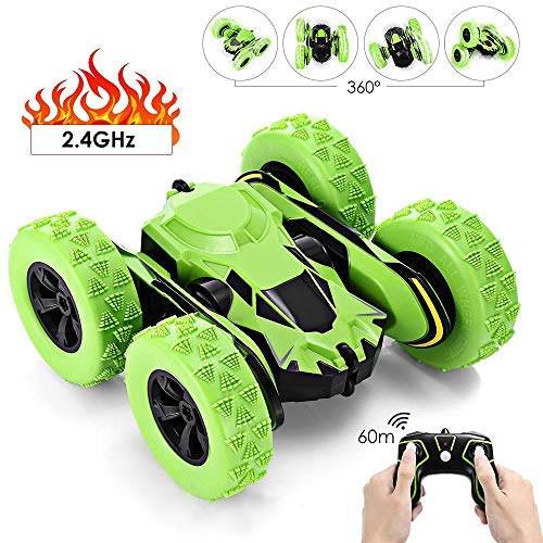 (Stunt RC Car Toy Cars, RC Electric Racing Car, 360-degree Rotation Remote Control Off Road Monster Truck, with Flexible Arm 1:28 Scale 60M Remote Control Racing Car for Kids and Adult)