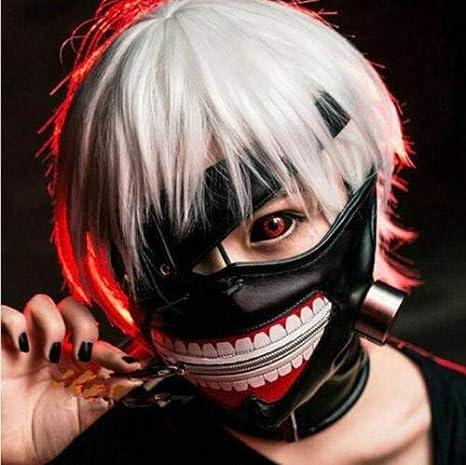 Amazon.com: Ken Mask - S Halloween Anime Cosplay Tokyo Ghoul Kaneki ...