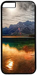 Colorful Mountain Reflection Retro Vintage Design iPhone 6 (4.7 inch) Hard Shell Case Cover by iCustomonline by runtopwell