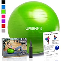 Exercise Ball (Multiple Sizes) for Fitness, Stability,...