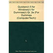 Quicken Five for Windows for Dummies Quick Reference