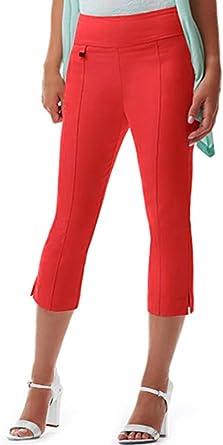 URREBEL UR REBEL UR Rebel Pants for Womens-Simon Chang Microtwill Capri Style#6235