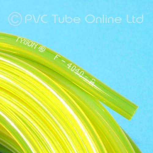 Tygon Carburante Benzina Tubo Flessibile 3 Piedi di 6.4 mm di Diametro 9.6 mm Diametro Esterno Genuine F4040 A 1st Class UK Delivery 0.9m