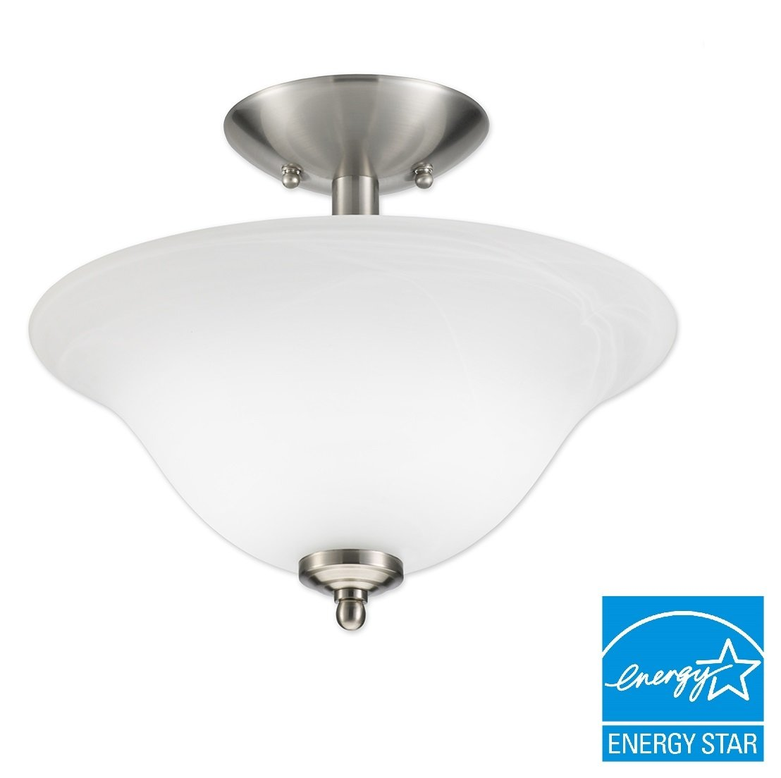 Brushed Nickel Goodearth Lighting G3150-BN13-IBX Good Earth Lighting Taverna Direct Wire Sconce