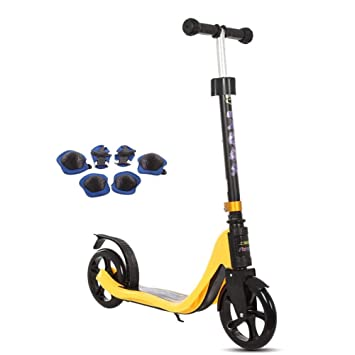 LXJYMX Scooter Junior, Patinete Scooter, Scooter Adulto ...