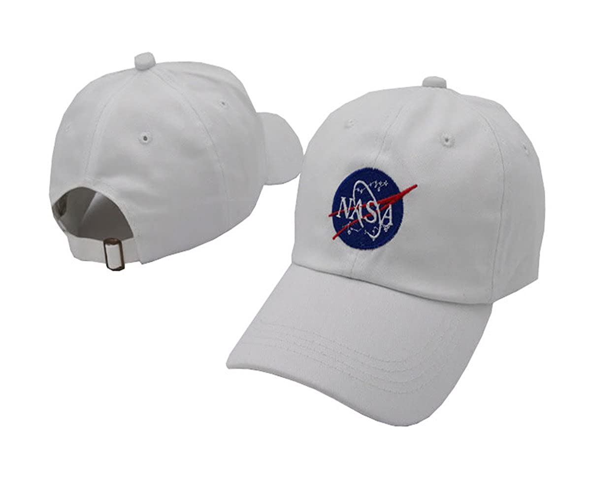 TOODOO black nasa Hats white Snapback Baseball Cap For Men Women Gorras Mujer Casquette Girls (black) at Amazon Mens Clothing store: