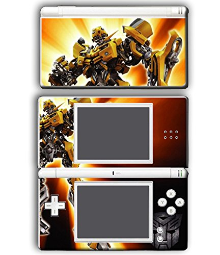 Bee Game Nintendo Ds (Transformers Bumblebee Autobots Video Game Vinyl Decal Skin Sticker Cover for Nintendo DS Lite System)