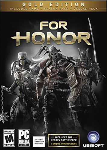 For Honor: Gold Edition (Includes Extra Content + Season Pass subscription) [Online Game Code]