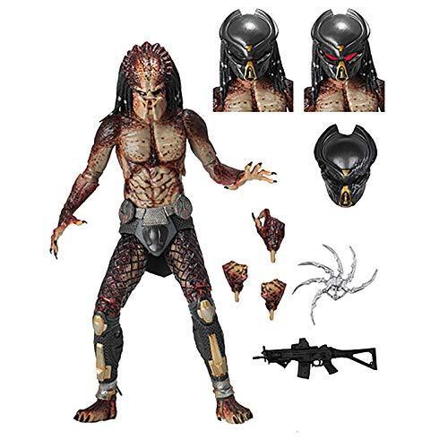 NECA Predator 2018: Ultimate Fugitive Predator (Lab Escape) Action - Predator Pack