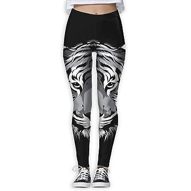 48075d70b9 Amazon.com: Women's Power Wild Stares Tiger Yoga Pants Tummy Control Workout  Yoga Pants Leggings: Clothing