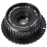 ZUMA Holga Lens for Canon DSLR Camera, Black (Z-860/EOS)