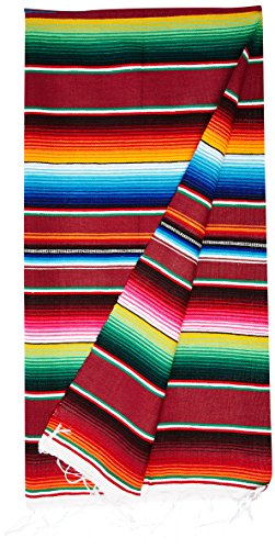 Large-Authentic-Mexican-Blankets-Colorful-Serape-Blankets-Assorted