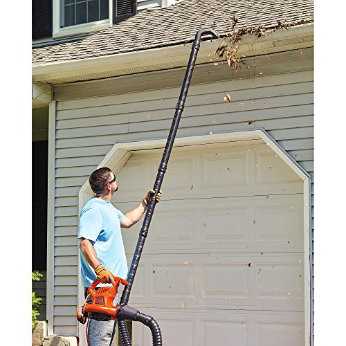 BLACK+DECKER BZOBL50 Quick Connect Gutter Cleaner Attachment