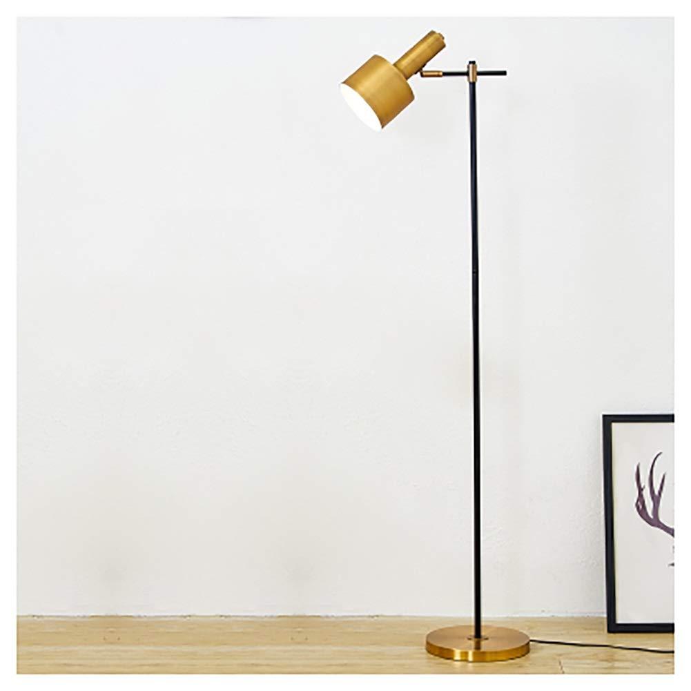 QPSGB 横の読書灯が付いている床ランプLEDの居間および寝室の現代縦ライトアジア陳列台 -4862 フロアランプ B07R8NQ9XL
