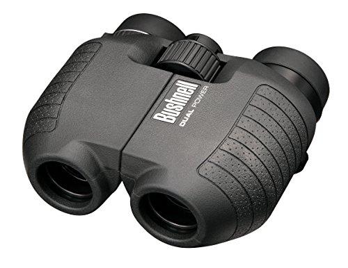Bushnell Dual Power Black Compact Porro Spectator Bincoluars, 5X-10X