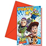T'story Star Pow Invites and Envelopes Party Accessory