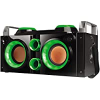 QFX PBX-505200BTGRN Portable Bluetooth Party PA System/Boom Box - Green