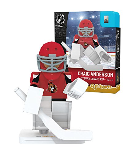 OYO Sports NHL Minifigure Ottawa Senators Craig - Senators Uniform Ottawa