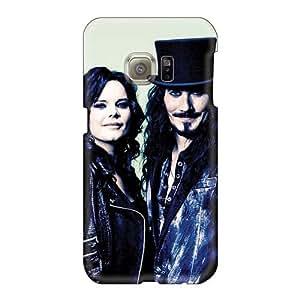 AshleySimms Samsung Galaxy S6 High Quality Hard Phone Cases Allow Personal Design Attractive Nightwish Band Skin [NiR15156EZTl]