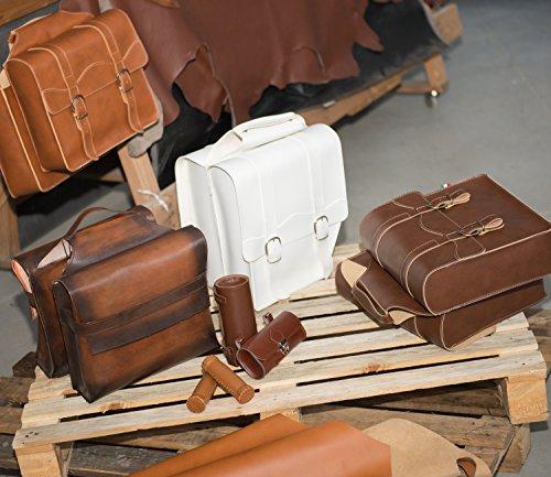 Fahrradrahmen. Tasche Gepäckträger. Fahrradgepäcktasche. Satteltasche, Fahrradtasche. Weinlese. Kunstleder. Farbe Schwarz. MADE IN ITALY (VIN_FX_52_F_N)