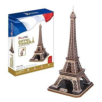 Cubicfun 3d Torre París La Eiffel Puzle nZNOk0w8PX