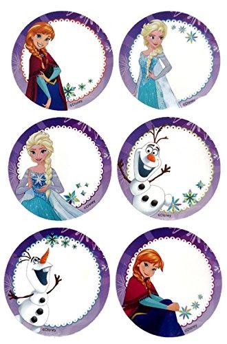 with Frozen Party Favors design