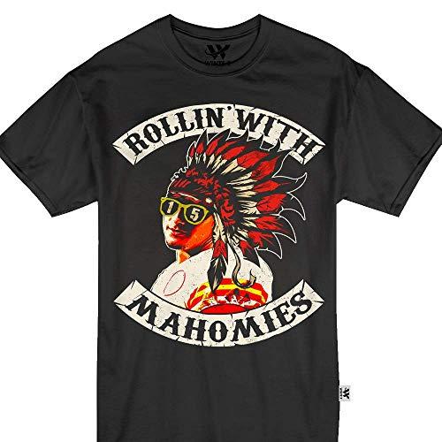 wintertee Patrick Rollin with Mahomies QB Jersey 15 Kansas City KC Tshirt