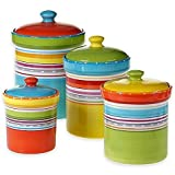 Mariachi 4-Piece Canister Set in Multi by Generic