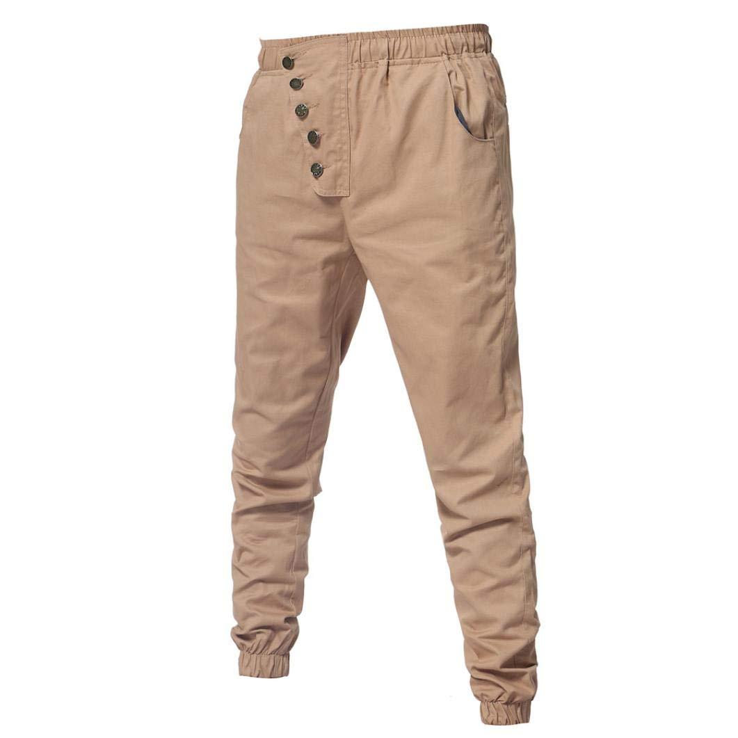 Elecenty Pantaloni da uomo Casual pantaloni della tuta elastici sports pants sweatpants Pantaloni sportivi uomo