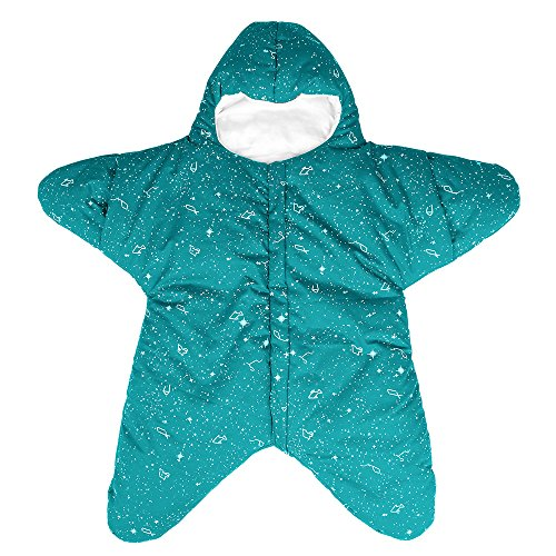 EsTong Baby SleepSack Wearable Blanket Starfish Swaddling Sleeping