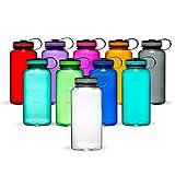 Maars Tritan Wide Mouth 34 oz. BPA-Free Sports Water Bottle