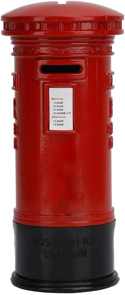 Nikou Tirelire Vintage M/étal Londres Rouge Cabine T/él/éphonique /Économiser Pot Tirelire Cadeau D/écoration