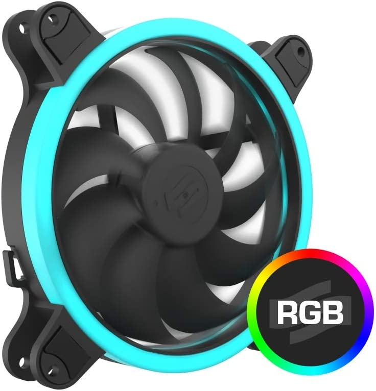 SilentiumPC Corona HP RGB 140 Ventilador con Controlador de ...