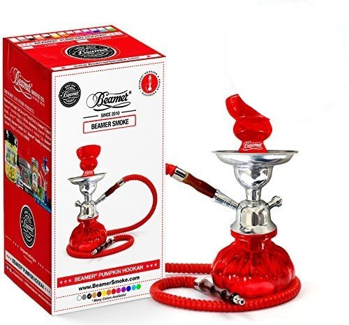 U Pick Color: Red Beamer Pumpkin Hookah Set + Limited Edition Beamer Sticker by Beamer