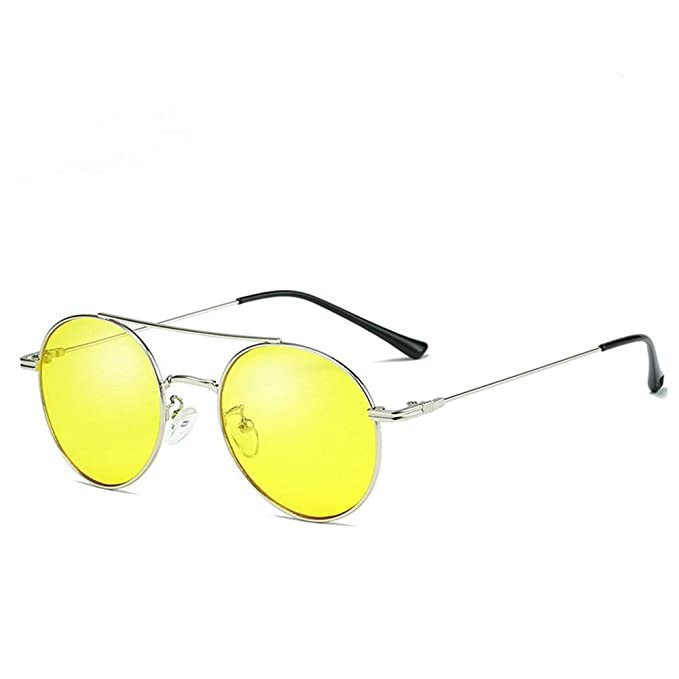 f3c7e65232 LOKI Gafas de sol retro con gafas polarizadas, jalea transparente en color  Diseñador clásico Gafas