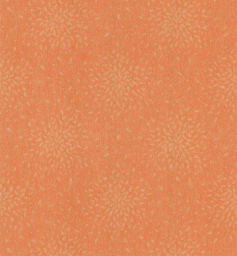 Brewster 141-62104 Sunburst Wallpaper, Medium Orange