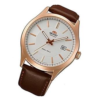 Orient Uhr Classic Automatik Datum Leder klassische Herrenarmbanduhr FER2C002W0