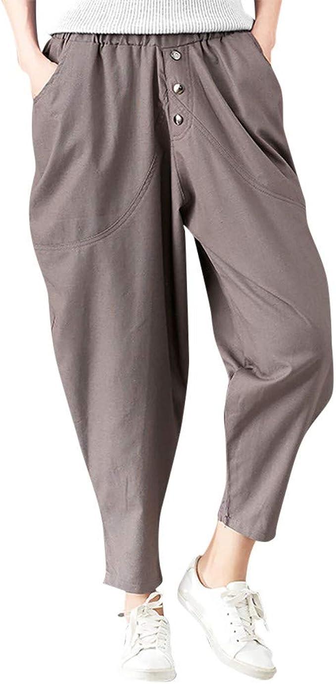 Sylar Pantalones Para Mujer Elegantes, Clásico Tendencia Simple ...