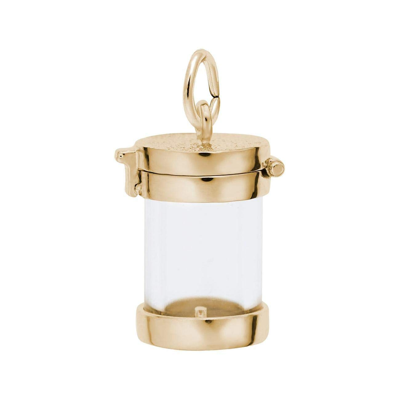 Rembrandt Charms Yellow Gold Apple Charm