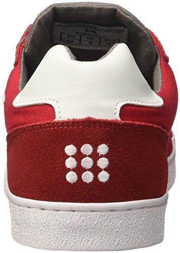 DrunknMunky Redgray Sneaker Uomo Classic New Rosso England BqTBFR7z