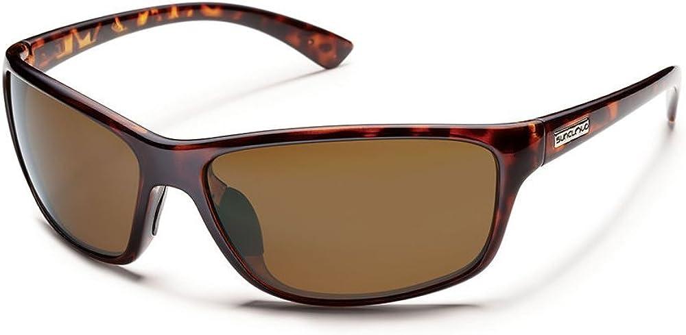 Suncloud Polarized Sentry Sunglasses Brown Polarized Polycarbonate Lens Tortoise Frame