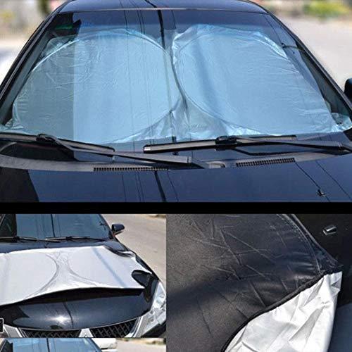 Idomeo Practical Reflective Insulation Car Windshield Sun Shade Sun Visor Protector Sunshades