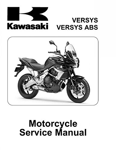 amazon com kawasaki versys 650 abs 2010 2011 service manual cd rh amazon com