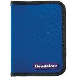 Beadalon Tool Zipper Pouch Blue Economy