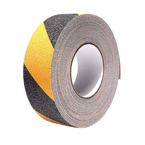 - Anti-Slip Safety Tape,Anti Slip Warning Tape for Stairs,Tread Step,Indoor,Outdoor (2 Inch x 60 Feet)