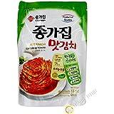 Chongga Mat Kimchi (Cut Cabbage Kimchi) In Pack 500g