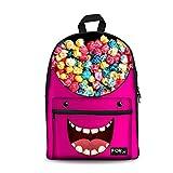 FOR U DESIGNS Stylish Popcorn Preschool Kids Bagpack Daily Travel Backpack